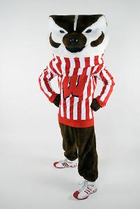 Bucky Badger, ©UW-Madison University Communications
