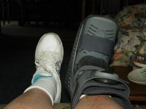 My Frankenstein boot