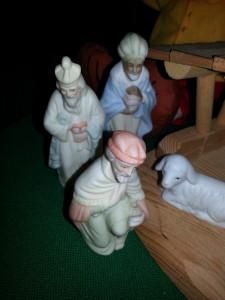Wise Men porcelain