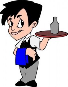 waiter-clipart