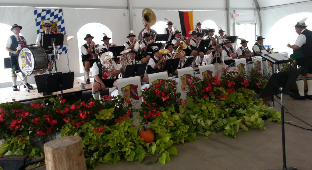 "The Freistadt Alte Kameraden Band played at ""Oak""toberfest in Sun Prairie, WI (Gretchen Lord Anderson photo)"